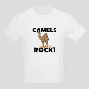 Camels Rock! Kids Light T-Shirt