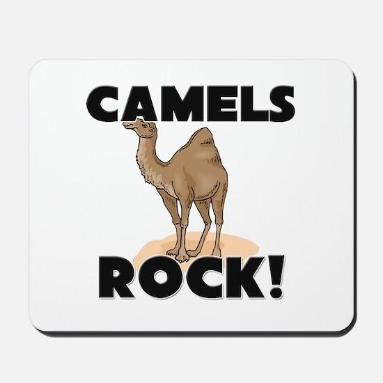 Camels Rock! Mousepad