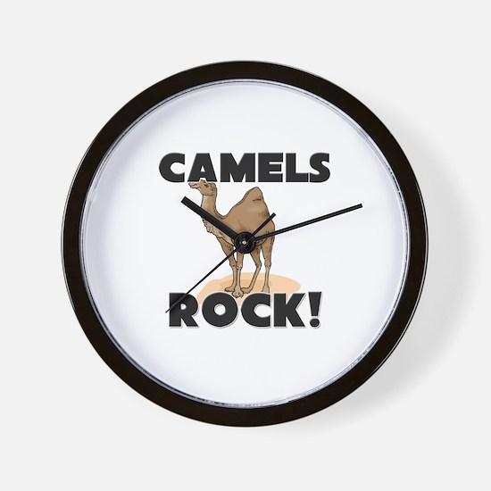 Camels Rock! Wall Clock