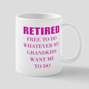 retired teacher Mugs