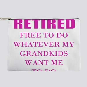 retired teacher Makeup Bag