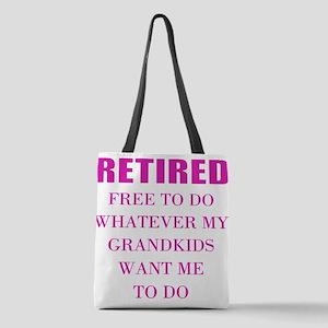 retired teacher Polyester Tote Bag