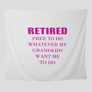 retired teacher Wall Tapestry