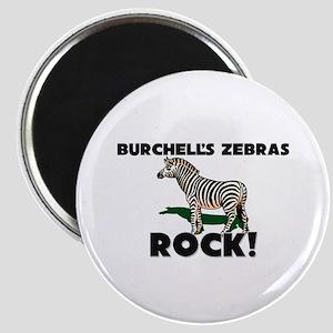 Burchell's Zebras Rock! Magnet