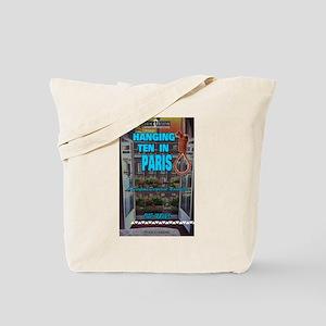 Hanging Ten in Paris Tote Bag