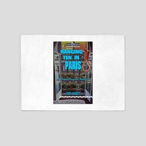 Hanging Ten in Paris 5'x7'Area Rug