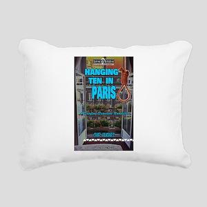 Hanging Ten in Paris Rectangular Canvas Pillow