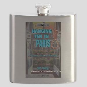 Hanging Ten in Paris Flask