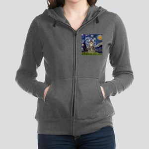 Starry Night & Tiger Cat Sweatshirt