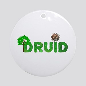 Druid Round Ornament