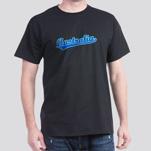 Retro Australia (Blue) Dark T-Shirt