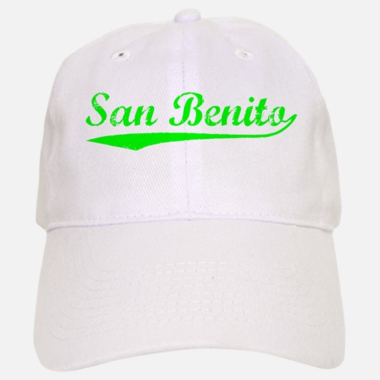 Vintage San Benito (Green) Baseball Baseball Cap