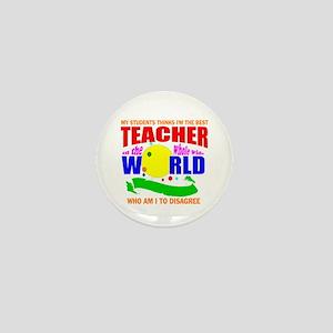 teacher Mini Button