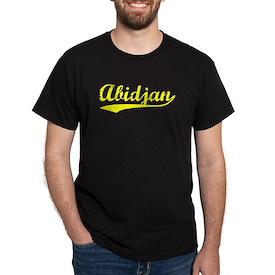Vintage Abidjan (Gold) T-Shirt