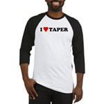 I Heart Taper Baseball Jersey