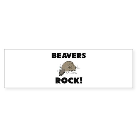 Beavers Rock! Bumper Sticker