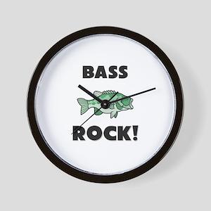Bass Rock! Wall Clock
