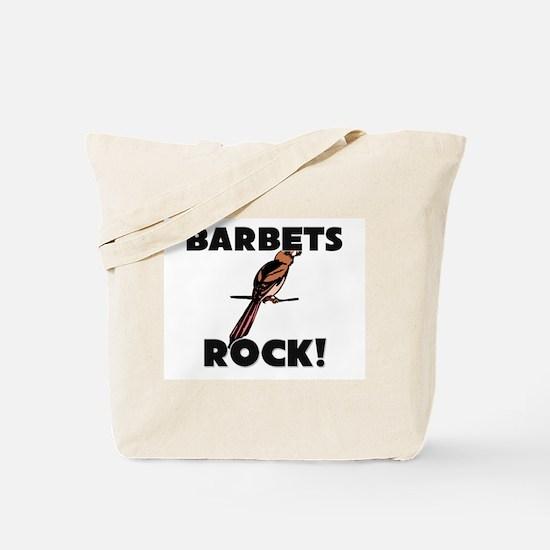 Barbets Rock! Tote Bag