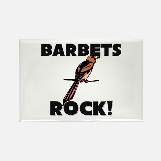 Barbets Rock! Rectangle Magnet