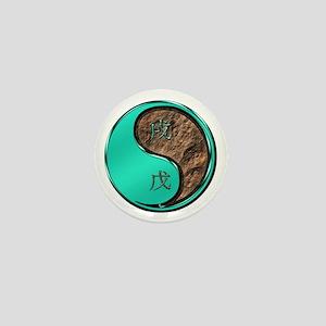 Earth Dog Mini Button