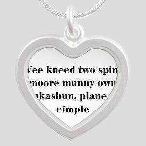 Funny teacher Necklaces