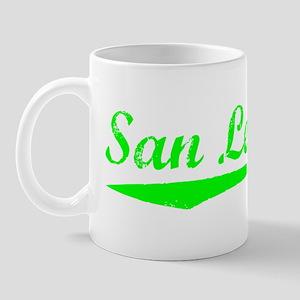 Vintage San Leandro (Green) Mug