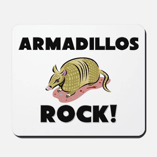 Armadillos Rock! Mousepad