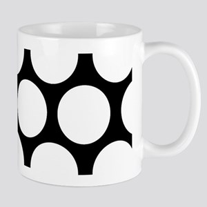 DOTS IN BLACK AND WHITE Mugs
