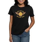 Fleu De Lis Scooter Club Women's Dark T-Shirt