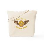 Fleu De Lis Scooter Club Tote Bag