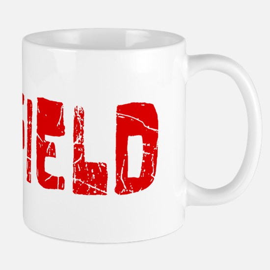 Garfield Faded (Red) Mug