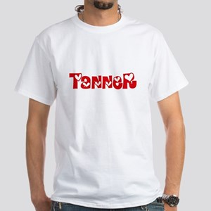 Tanner Surname Heart Design T-Shirt