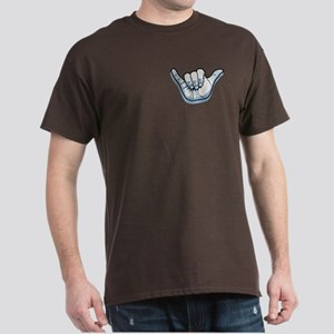 Wrinkly Shaka Dark T-Shirt