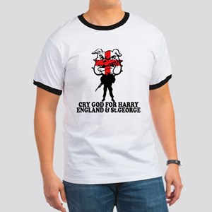 Cry God for Harry,England & St George Ringer T