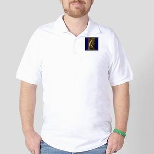 """""""The Bookworm"""" Golf Shirt"""