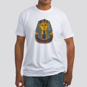 King Tut Mask #2 Fitted T-Shirt