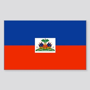 Haiti Rectangle Sticker