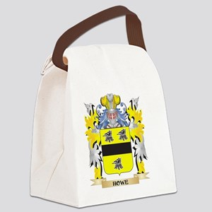Howe Coat of Arms - Family Crest Canvas Lunch Bag