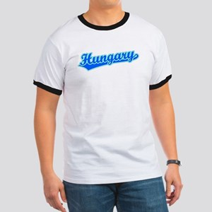 Retro Hungary (Blue) Ringer T