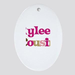 Rylee's Cousin Oval Ornament