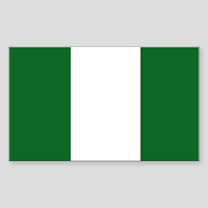 Nigeria Rectangle Sticker