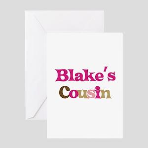 Blake's Cousin Greeting Card