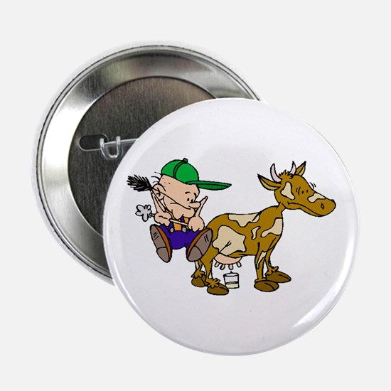 "Milking Cow 2.25"" Button"