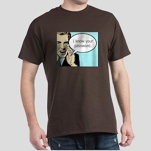 Password Dark T-Shirt
