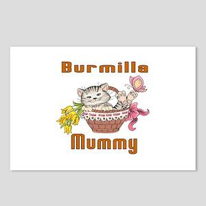 Burmilla Cat Designs Postcards (Package of 8)