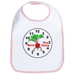 Beet The Clock Bib