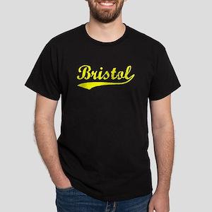 Vintage Bristol (Gold) Dark T-Shirt