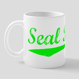 Vintage Seal Beach (Green) Mug
