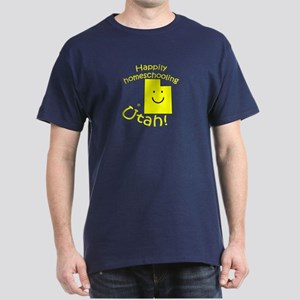 Happy in UT Dark T-Shirt