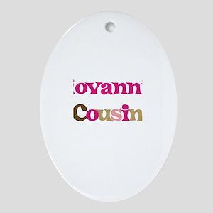 Giovanni's Cousin Oval Ornament